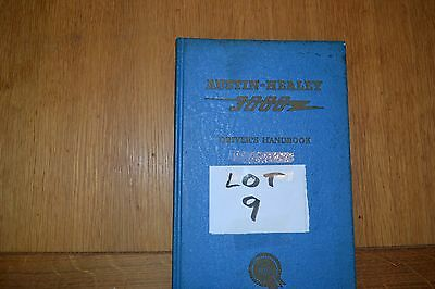 Austin Healey 3000 owners hand book.