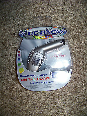 NIP 2004 Hasbro Tiger Electronics Video Now Color Car Adaptor Power Devices
