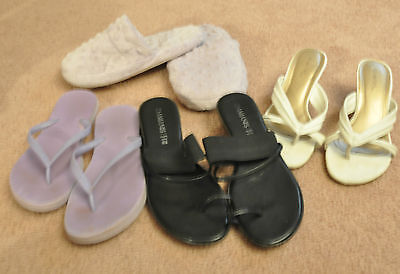 4 Pairs of Women's Shoes (LOT)  size 5 and 8 1/2