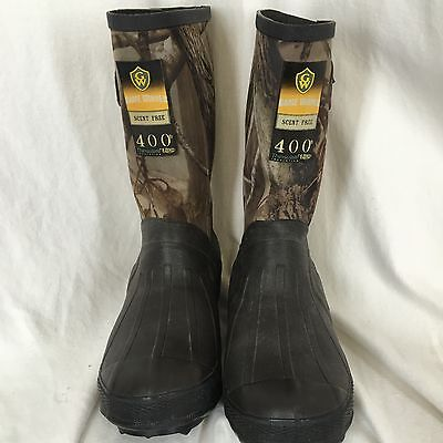 Game Winner Youth Thinsulate Ultra 400 Camo Boots  Size 4