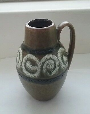 Vintage West German Fat Lava pottery jug 474-76