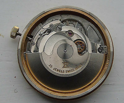 ETA 2427 Automatic Wrist watch movement for spares or repairs