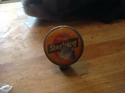 Vintage Sterling Beer Ball type Tap Evansville Mellow Rare Style But....