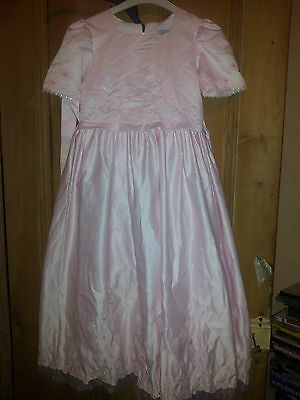 Stunning Pink Vivaki Bridesmade Dress Age 12 Years Prom/dance/party
