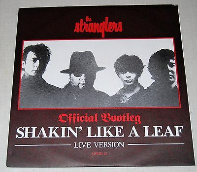 "STRANGLERS : Official Bootleg -Shakin Like A Leaf (12"" PS UK 1987) -MINT-"