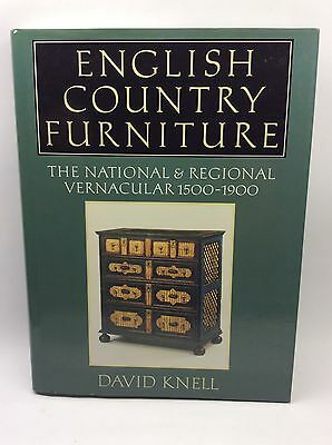 Book English Country Furniture 1500-1900 David Knell Tudor Elizabethan Georgian.