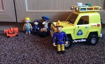 Fireman Sam 2006 Mountain Rescue Truck with Figures