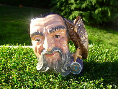 Royal Doulton  * Merlin * 1959 * Toby Jug  * Lovely Condition