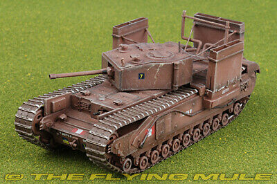 1:72 Churchill Mk III Betty Canadian Army 14th Canadian Armored Rgt w/Wading
