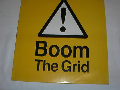 """The Grid - Boom! - 12"""" Single - Dave Ball / Soft Cell - VST1369"""