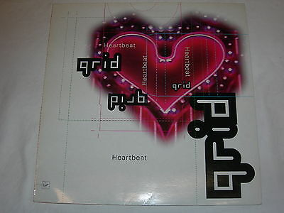 """The Grid - Heartbeat - 12"""" Single - Dave Ball / Soft Cell - VST1427"""