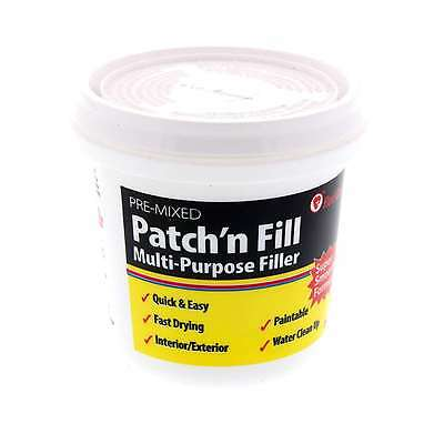 Filler Ready Mix Patch Fast Drying Paintable Interior Exterior Red Devil 250ml