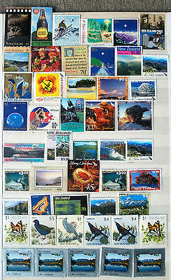 Great Collection $68+of Mint No Gum New Zealand Stamps.