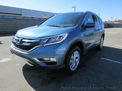 2016 Honda CR-V AWD 5dr EX-L w/Navi AWD 5dr EX-L w/Navi New 4 dr SUV CVT Gasoline 2.4L 4 Cyl Mountain Air Metallic