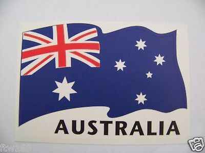 Sticker Australia Flag Car Bike Helmet Ute 4Wd Suv Motorcycle Scooter Coupe 4Dr