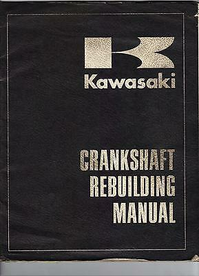 Kawasaki H1 A7 F5 Crankshaft Rebuilding Manual