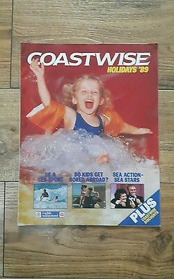 Coastwise Holiday's '89 Vintage Holiday Brochure