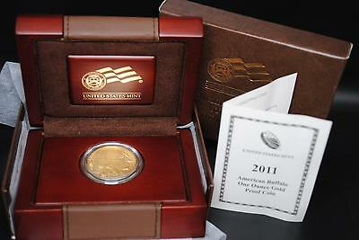 2011-W AMERICAN GOLD BUFFALO PROOF COIN (1 oz) $50