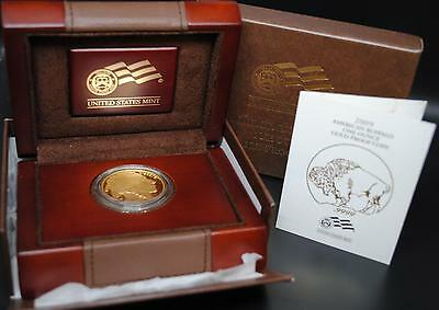 2009-W AMERICAN GOLD BUFFALO PROOF COIN (1 oz .9999 PURE) $50