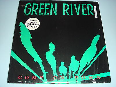 Green River - Come on down - US Homestead Recs Green Translucent - Exc Cond
