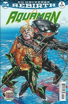Aquaman (8th Series) # 2 NM 2016