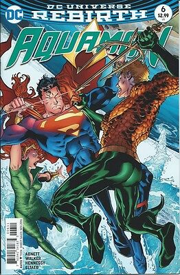 Aquaman (8th Series) # 6 NM 2016