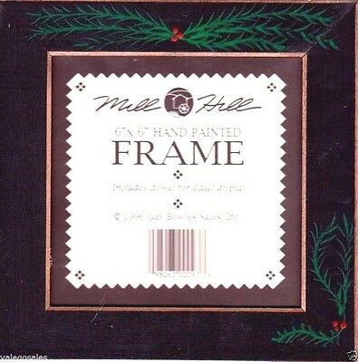 """Mill Hill FRAME for Beaded Kits 6"""" x 6"""" ~ MATTE BLACK WITH PINE #GBFRFA16 Sale"""