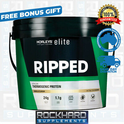 Horleys Ripped Factors 3Kg Protein + Free Horleys Gym Bag & Acetyl L-Carnitine