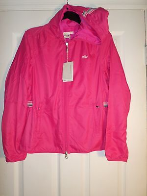 L@@K!!  Nike GOLF Jacket Pink-Water Resistant-Zip-Embroidered Size M Women's