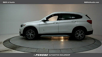 2017 BMW X1 sDrive28i Sports Activity Vehicle sDrive28i Sports Activity Vehicle New 4 dr Automatic Gasoline 2.0L 4 Cyl Mineral