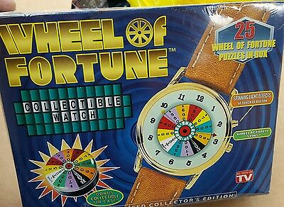New Wheel Of Fortune Collectible Watch