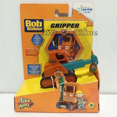 Bob the Builder GRIPPER Take Along worn card Learning Curve friend scoop dizzy