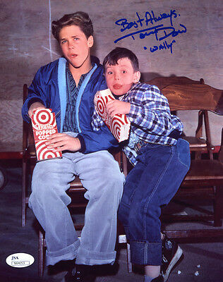 """(SSG) TONY DOW Signed 8X10 Color """"Leave It To Beaver"""" Photo with a JSA COA"""