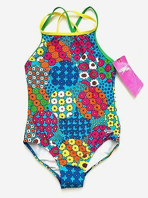 NEW SPEEDO Girls One-Piece Swimsuit - Choose Size!