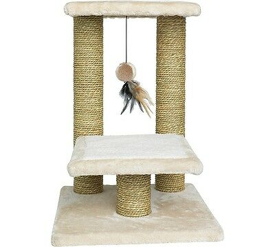 Tall, Two-Tier Cat Scratching Post