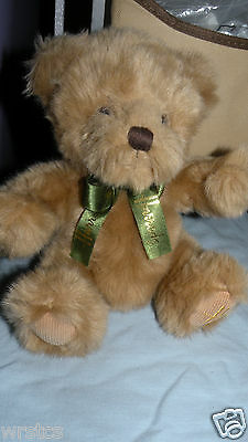 Vintage Harrods Knightsbridge Original Teddy Bear 7-8 inch 0901