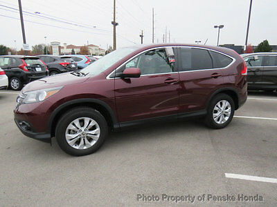 2014 Honda CR-V AWD 5dr EX AWD 5dr EX Low Miles 4 dr SUV Automatic Gasoline 4 Cyl Basque Red Pearl II