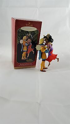 Hallmark Keepsake1997 Phoebus and Esmeralda Disney Hunchback Ornament  IOB