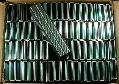 "7/16"" Inch Medium Crown Staples 16 gauge 1-1/2"" Inch Long (10,000 pcs/box)"