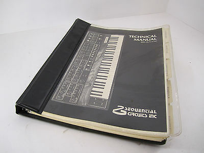 Sequential Circuits Inc. Prophet-5 Synthesizer Technical Manual - Rev. 3-3.2