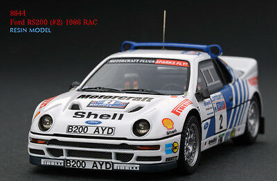 1:43 HPI RESIN #8844 Ford RS200 (#2) 1986 RAC