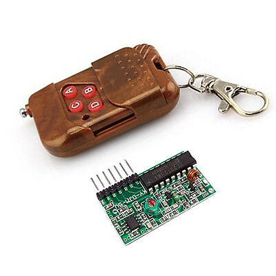 IC2262/2272 4CH Wireless RF Remote Control Decoding Receiver Transmitter Module