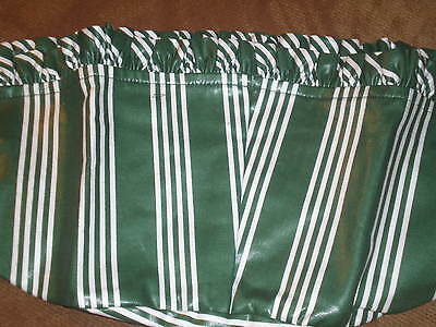 Longaberger Kiddie Purse Basket Liner - Hunter Green Stripe
