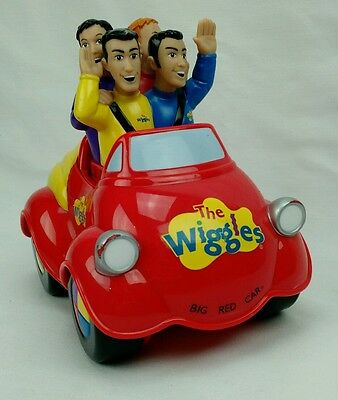 The Wiggles Original Big Red Car Electronic Singing w/Music Toy.          B2