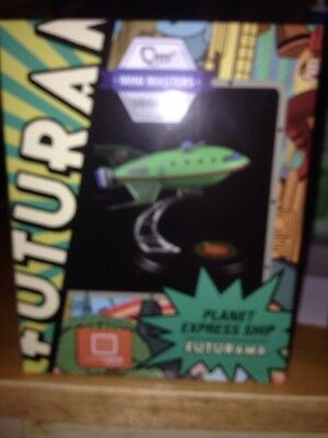 Loot Crate Exclusive Qmx Mini Masters Vehicles Planet Express Ship Futurama New