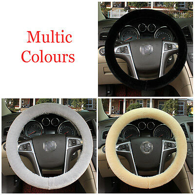 Plush Winter Car Steering Wheel Cover Protector Vehicle Styling Accessory