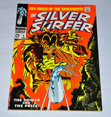Silver Surfer 3 1968 Silver Age 1st Mephisto NICE Copy