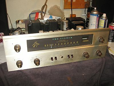 Vintage Fisher 400 Tube FM Stereo Receiver-NICE !!