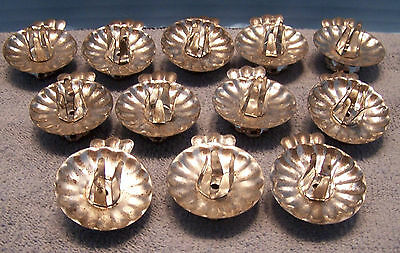 12 Great vintage Christmas Tree Tin Candle Clips Holders