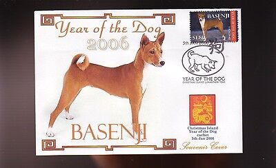 Basenji Year Of The Dog Stamp Souvenir Cover 1
